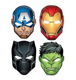 Amscan Avengers Powers Unite Masks - 8ct.