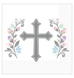Amscan Holy Day Bev. Napkins - 36ct.