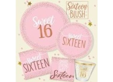 Sixteen Blush Birthday