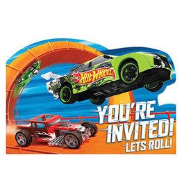 Amscan Hot Wheels Wild Racer Invites - 8ct.