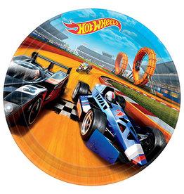 "Amscan Hot Wheels Wild Racer 9"" Plates - 8ct."