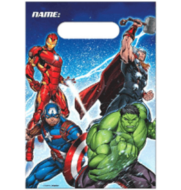 Amscan Avengers Loot Bags - 8ct.