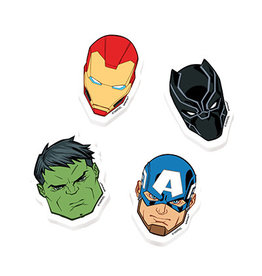 Amscan Marvel Avengers Powers Unite Erasers - 8ct.