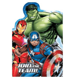 Amscan Marvel Avengers Invites - 8ct.