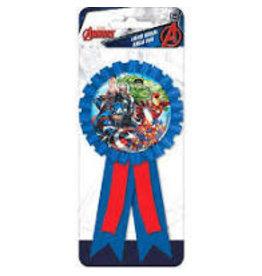 Amscan Marvel Avengers Award Ribbon - 1ct.
