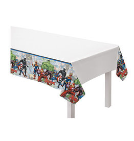 """Amscan Avengers Powers Unite Tablecover - 54"""" x 96"""""""