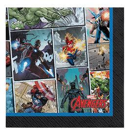 Amscan Marvel Avengers Powers Unite Bev. Napkins - 16ct.