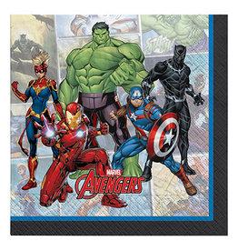 Amscan Marvel Avengers Powers Unite Lun. Napkins - 16ct.