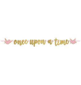 Amscan Disney Princess 'Once Upon A Time' Banner - 12ft.