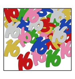 Beistle '16' Multi-Color Confetti