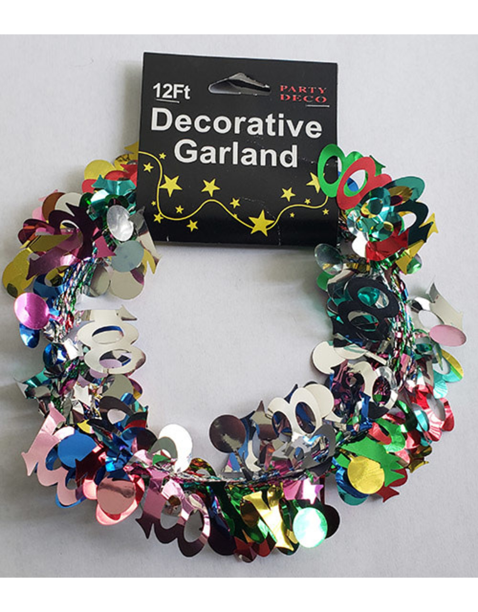 party deco 100th Birthday Garland - 9ft. Multi-Color