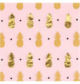 creative converting Pineapple Wedding Bev Napkins - 16ct.