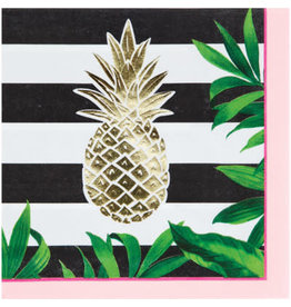 creative converting Pineapple Wedding Lunch Napkins - 16ct.