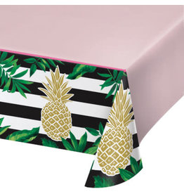 """creative converting Pineapple Wedding Tablecover - 54"""" x 102"""""""