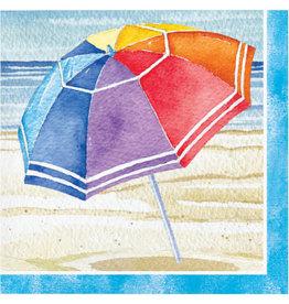 creative converting Beach Umbrellas Bev. Napkins - 16ct.