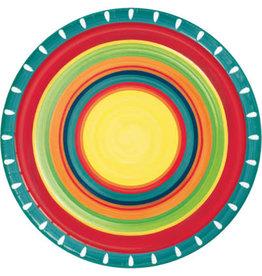 "creative converting Summer Stoneware 9"" Plates - 8ct."