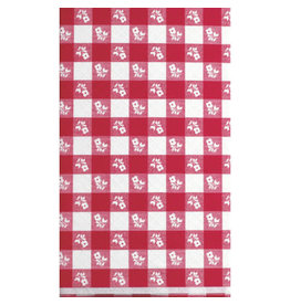 """creative converting Red Gingham Tableskirt -  13' x 29"""""""