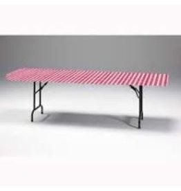 """creative converting Classic Gingham Rect. Stay-Put tablecover - 30"""" x 96"""""""