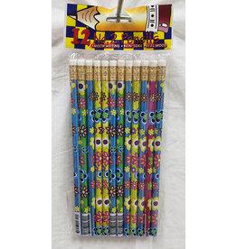 fun express Flower Power Pencils - 12ct.