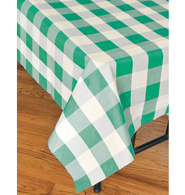 "Havercamp Green Plaid Tablecover - 54"" x 108"""