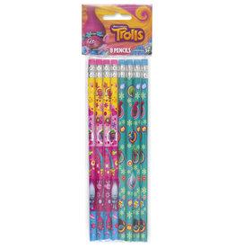 unique Trolls World Tour Pencils - 12ct.