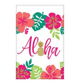 """Amscan You Had Me At Aloha Tablecover - 54"""" x 102"""""""