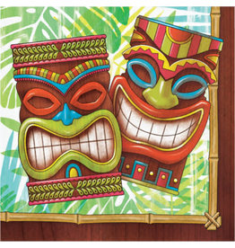 creative converting Tiki Time Lunch Napkins  -16ct.