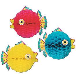 "Beistle 12"" Tissue Bubble Fish - 1ct."