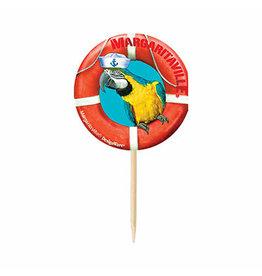 Amscan Margaritaville Parrot Picks - 24ct.