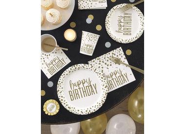 Confetti Gold Birthday