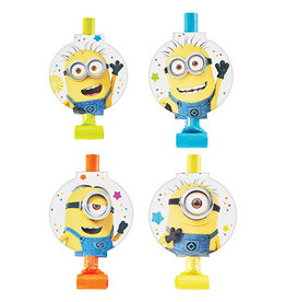 Amscan Minions - Despicable Me Blowouts - 8ct.