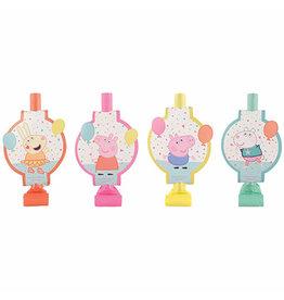 Amscan Peppa Pig Confetti  Blowouts - 8ct.