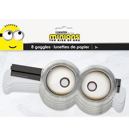 unique Despicable Me Minions Paper Goggles - 8ct.
