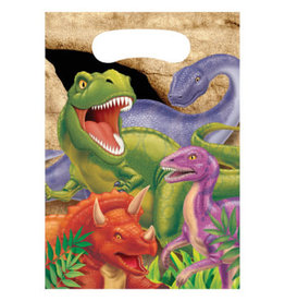 creative converting Dino Blast Loot Bags - 8ct.
