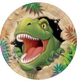 "creative converting Dino Blast 9"" Plates - 8ct."