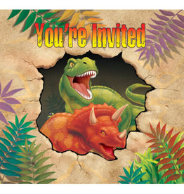 creative converting Dino Blast Invites - 8ct.