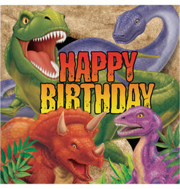 creative converting Dino Blast Birthday Lun. Napkins - 16ct.