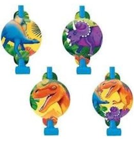 Amscan Dinosaur Party Blowouts - 8ct.