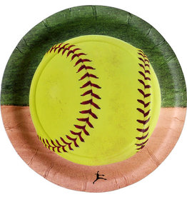 """Havercamp Fastball Softball 7"""" Plates - 8ct."""