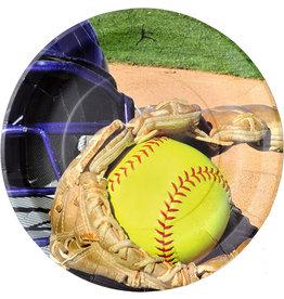 "Havercamp Fastpitch Softball 9"" Plates - 8ct."
