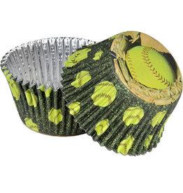Havercamp Fastpitch Softball Cupcake Cups - 36ct.