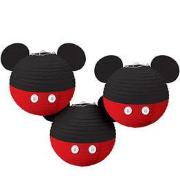 Amscan Mickey Mouse Lanterns - 3ct.