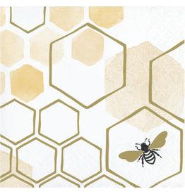 creative converting Honeycomb Beverage Napkins - 16ct.