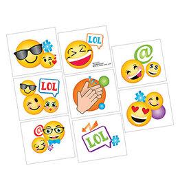 Amscan LOL Emoji Tattoo Favors - 8ct.