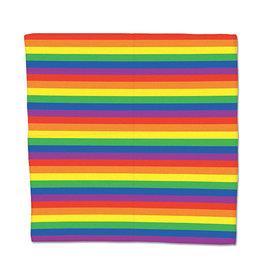 "creative converting Rainbow Bandana - 22"" x 22"""
