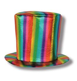 Beistle Rainbow Fabric Hat - 1ct.