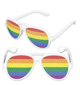 Beistle Rainbow Pinhole Glasses - 1ct.