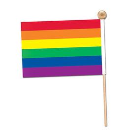 "Beistle Small Rainbow Flag - 5"""