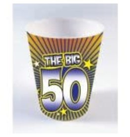 SKD Party by Forum 50th Birthday Shot Glass Beads - 1ct.