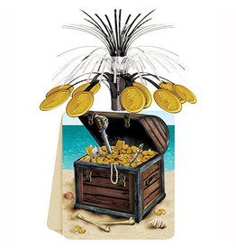 "Beistle Pirate Treasure Centerpiece - 7"" x 10"""